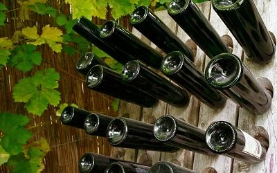 Wijnflessen Groesbeek