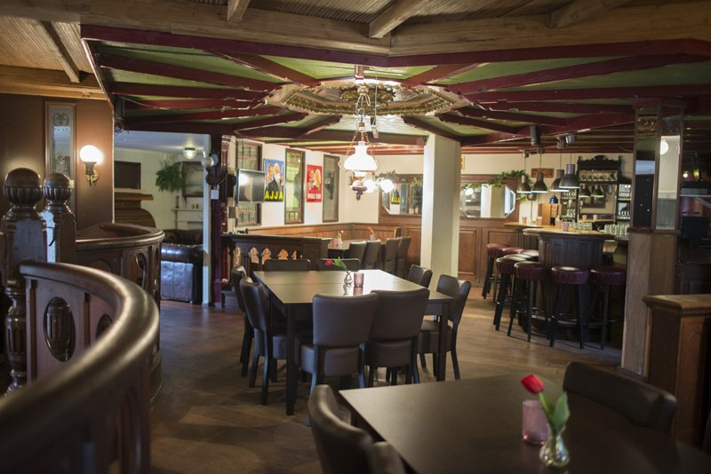 Groepsaccommodatie 50 personen - pub